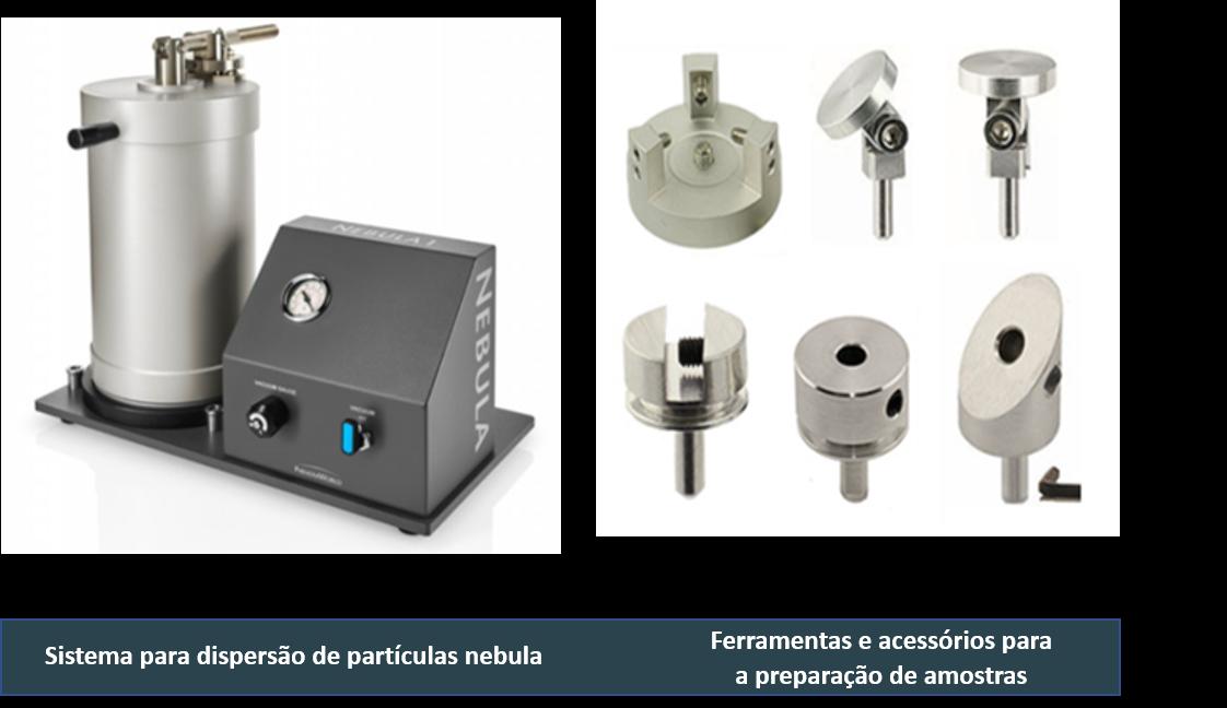 Acessórios para preparação de amostras microscopios eletronicos de varrimento (SEM) Phenom