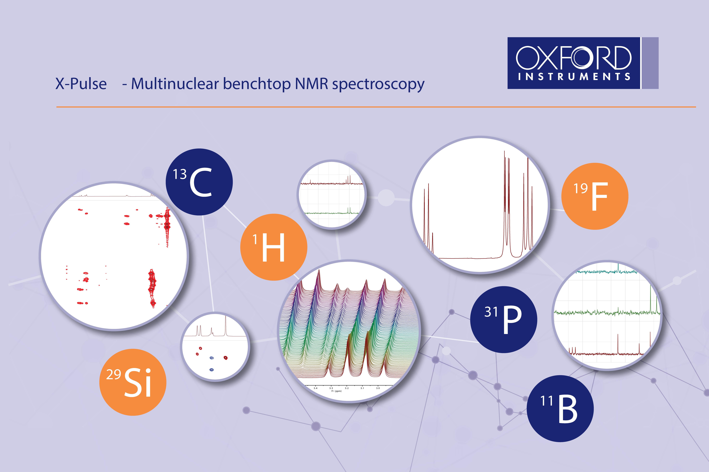 Equipamento NMR, X-pulse da Oxford