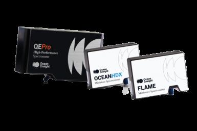 Espectrómetros da marca Ocean-Insight